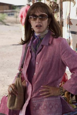Leaving Forests: photo of Felicity Huffman in the movie TRANSAMERICA.