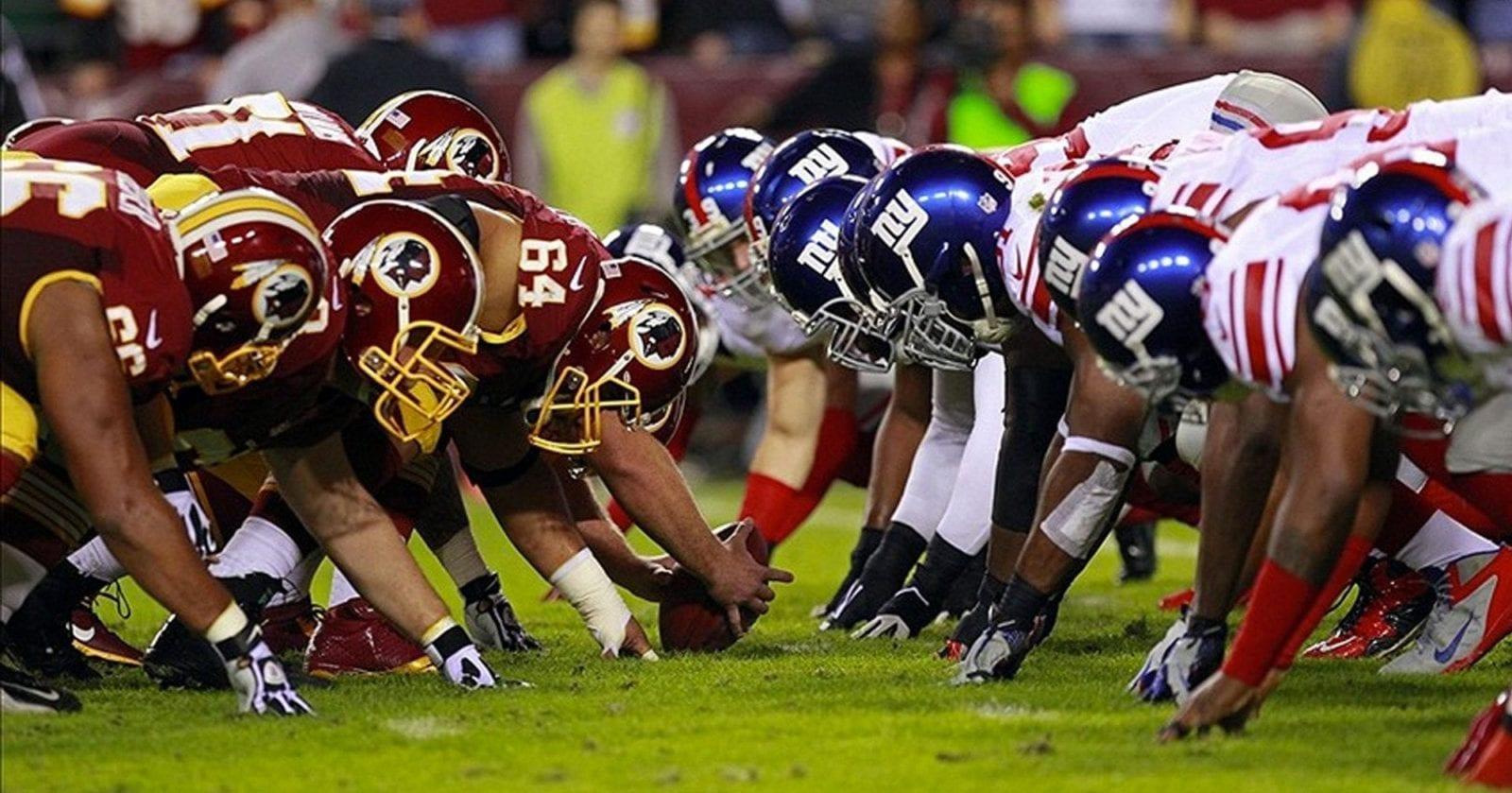 NFL Giants Redskins 2000