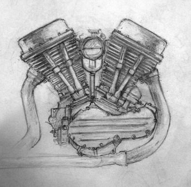 panhead sketch
