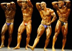 bodybuilding contestants