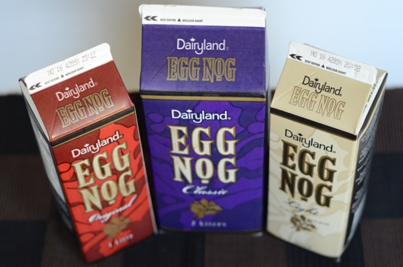 Dairyland egg nogs