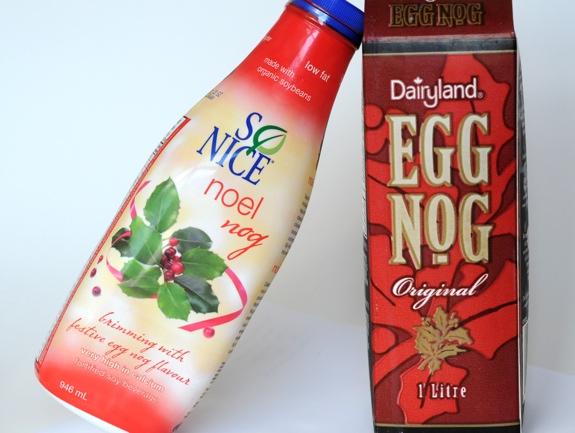 Egg nog versus Noel Nog