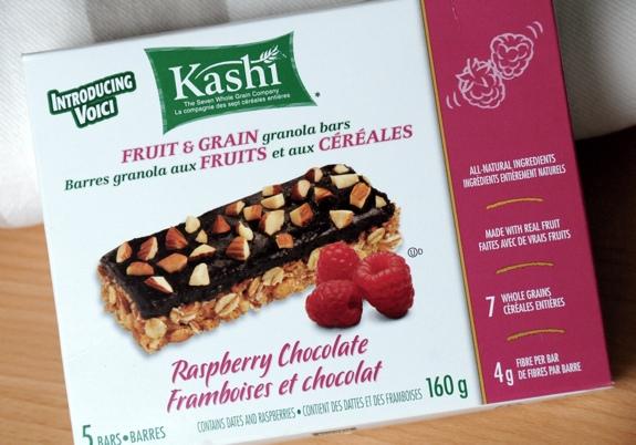 Kashi Raspberry Chocolate granola bars