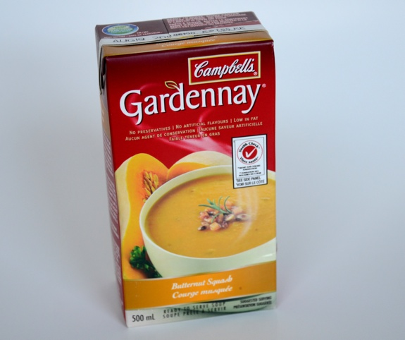 Campbell's Gardennay Butternut Squash soup