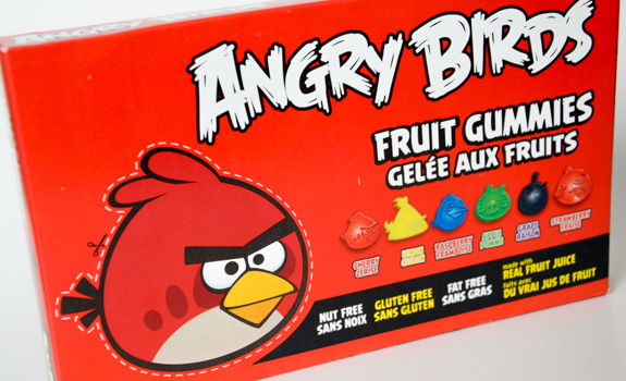 Angry Birds Fruit Gummies candy