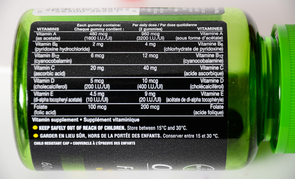 Review: One a Day Fruiti-ssentials Gummies vitamins