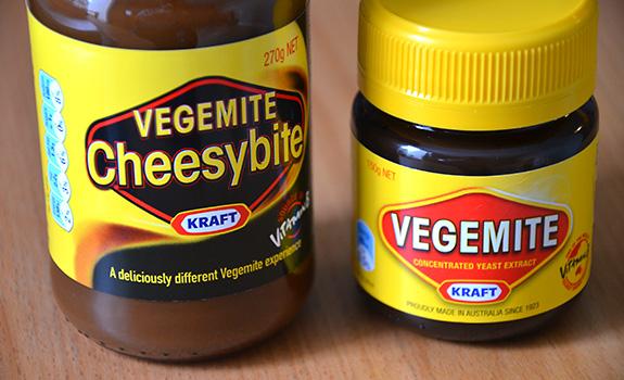 Vegemite and Vegemite Cheesybite