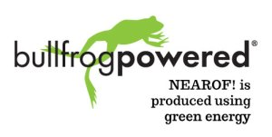 NEAROF! is powered by green energy!