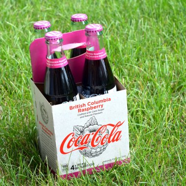 Coca-Cola British Columbia Raspberry