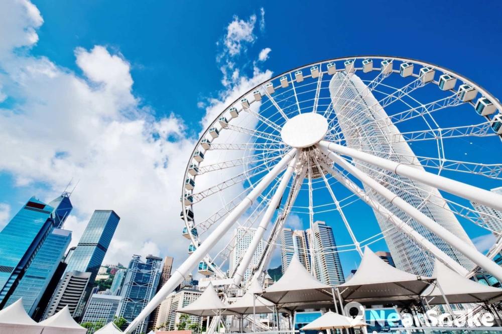 中環摩天輪重開:香港摩天輪收費成人門票$20 新營辦商承諾3年內不加價 | NearSnake.com