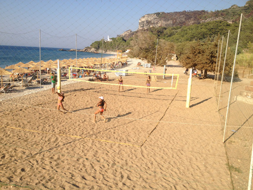 Tοπικό τουρνουά-πρωτάθλημα Beach Volley U16