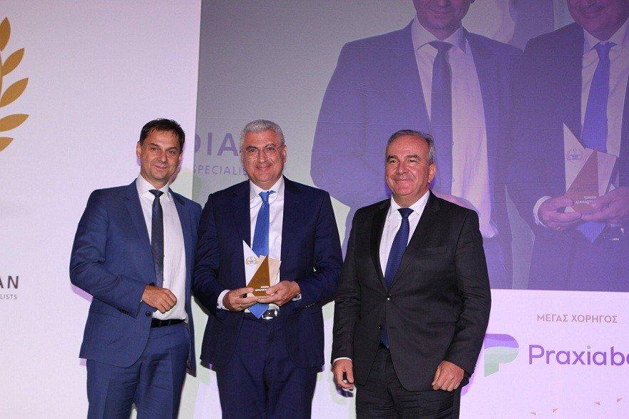Εθνική Ασφαλιστική: Βράβευση στα 1α Επιχειρηματικά Βραβεία «Θαλής ο Μιλήσιος»