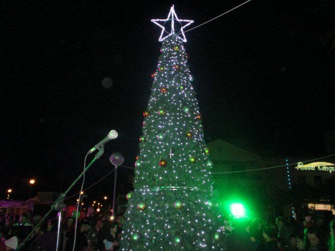 Την Κυριακή 8 Δεκεμβρίου η φωταγώγηση του Χριστουγεννιάτικου δέντρου στην Πόλη της Σάμου