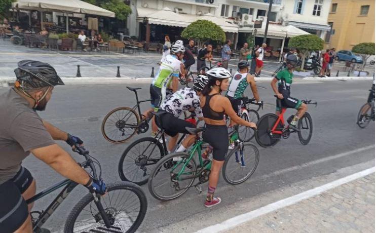 Ποδηλατικός αγώνας 5,1 χλμ στην πόλη της Σάμου