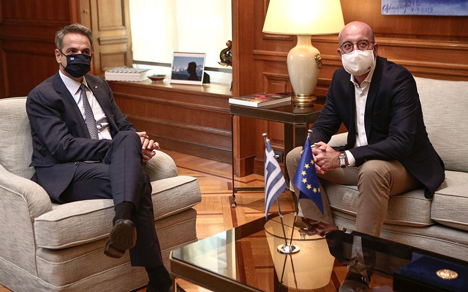 Κυρ. Μητσοτάκης: Διερευνητικές επαφές μόνο με απτά δείγματα γραφής από την Τουρκία
