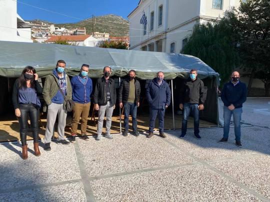 Στη Σάμο ο Πρόεδρος του Συλλόγου Πολιτικών Μηχανικών Ελλάδος