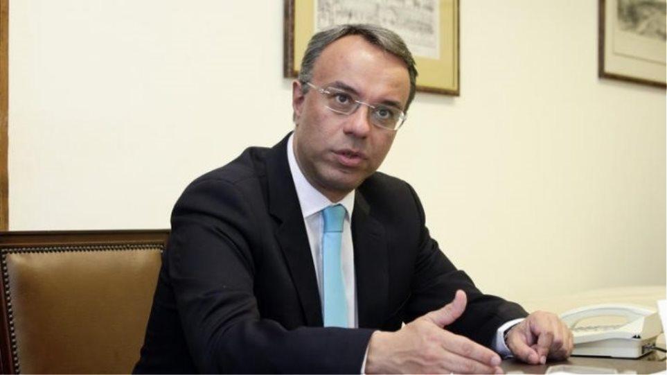 Σταϊκούρας: Εξετάζουμε το σταδιακό άνοιγμα της οικονομίας από τις 22 Μαρτίου