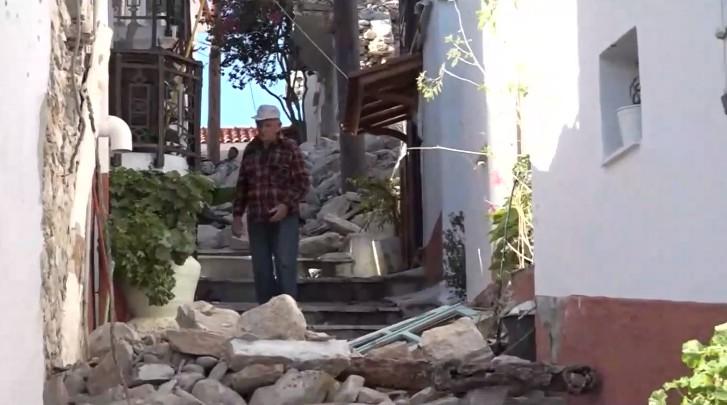 To Mega στη Σάμο – Ένα χρόνο μετά τον σεισμό, 200 οικογένειες είναι έξω από τα σπίτια τους