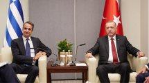 Ανοιχτό το ενδεχόμενο συνάντησης με τον Κ. Μητσοτάκη άφησε ο Τ. Ερντογάν