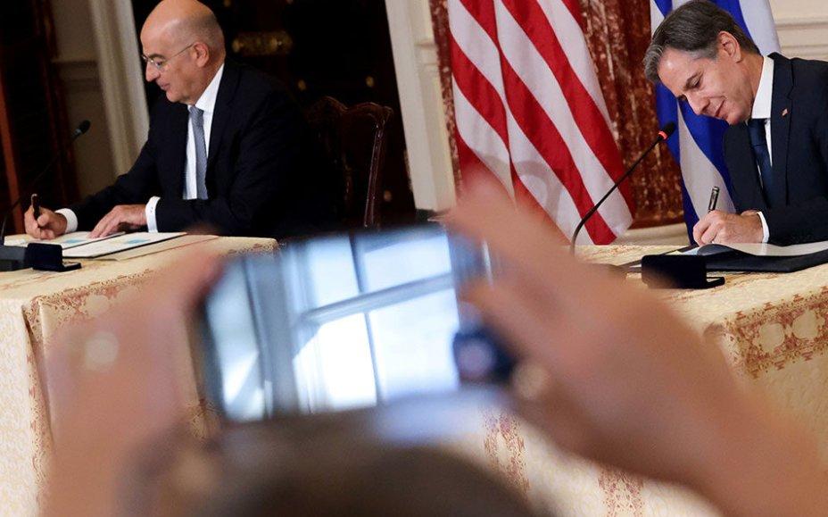 ΥΠΕΞ: Τι προσφέρει στην Ελλάδα η συμφωνία με τις ΗΠΑ και η επιστολή Μπλίνκεν σε Μητσοτάκη
