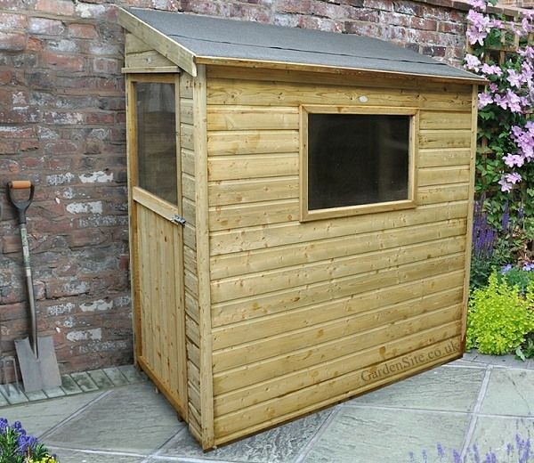 Simple Lean-To Shed