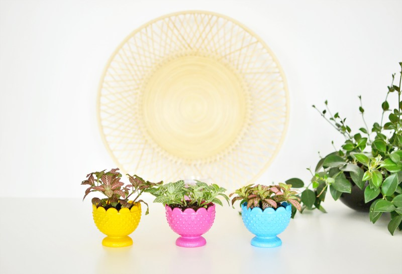 Tealight-candle-holder-flower-planters