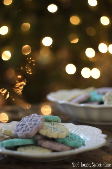 bedtime routines holiday cookies