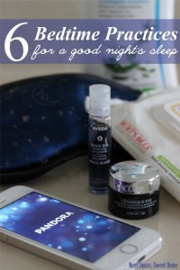 Bedtime Routine for a Good Night's Sleep