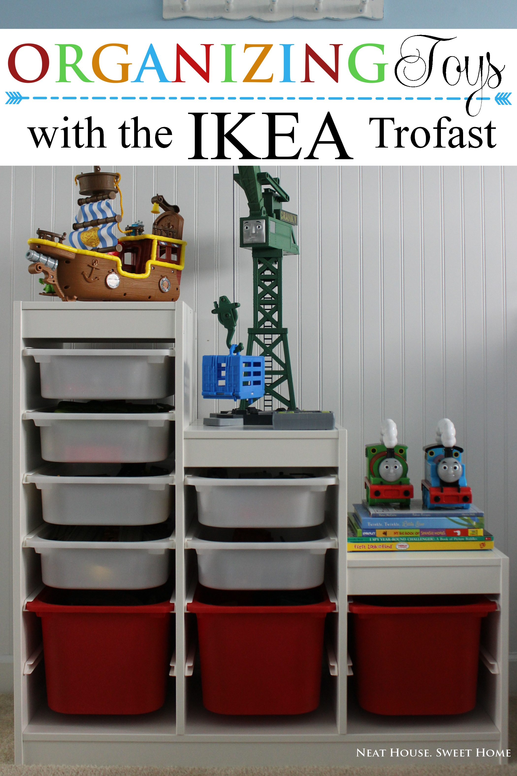 Trofast Ikea organization with ikea trofast and a tip neat house