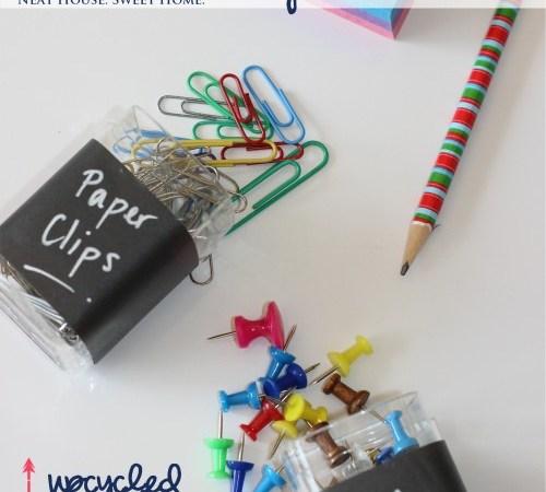 Desk Organization With DIY Office Accessories