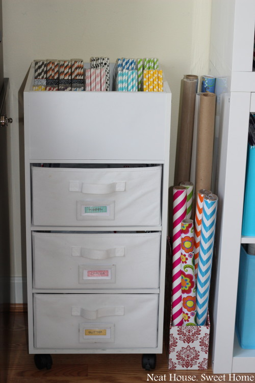 5 Craft Room Organztion Tips