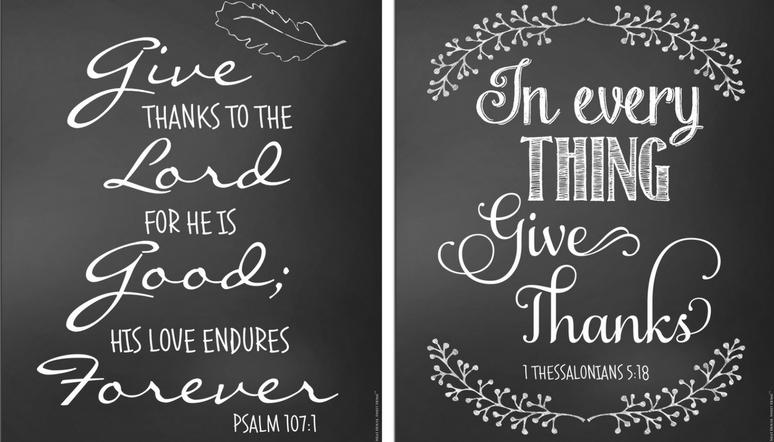 Thanksgiving Chalkboard Art Free Neat House Sweet Home