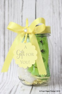Mani-Pedi in a jar, the perfect gift for mom, teachers, brides and moms to be!
