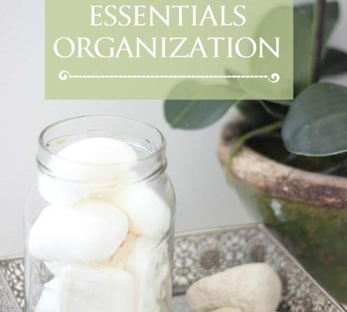 Bathroom Cabinet Organization – Week 10