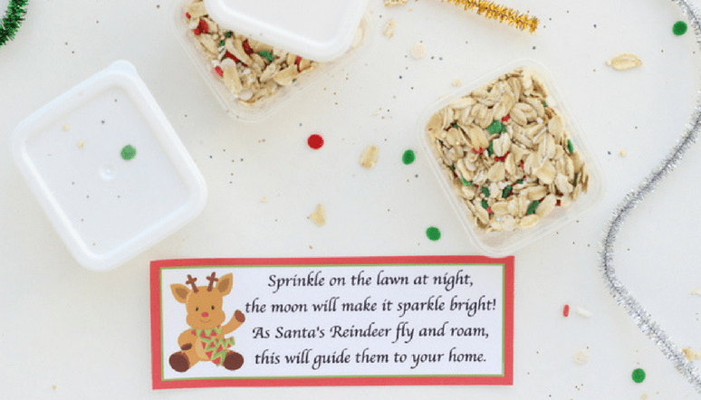 photo regarding Reindeer Food Poem Printable identify Magic Reindeer Food items Favors - Finish Manual and Printable Poem
