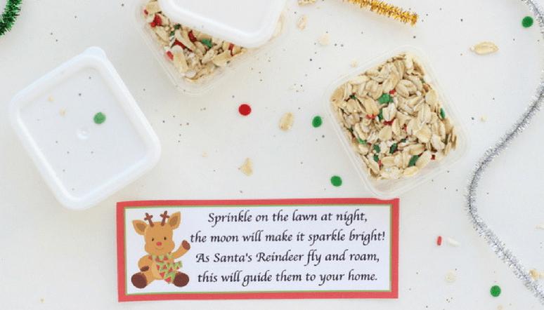 picture relating to Reindeer Food Printable identify Magic Reindeer Food items Favors - Total Guidebook and Printable Poem