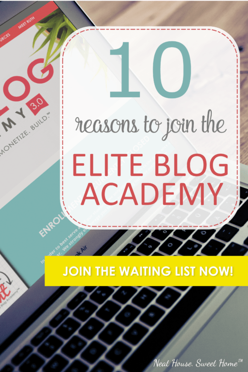 10 Reasons Why You Should Join the Elite Blog Academy