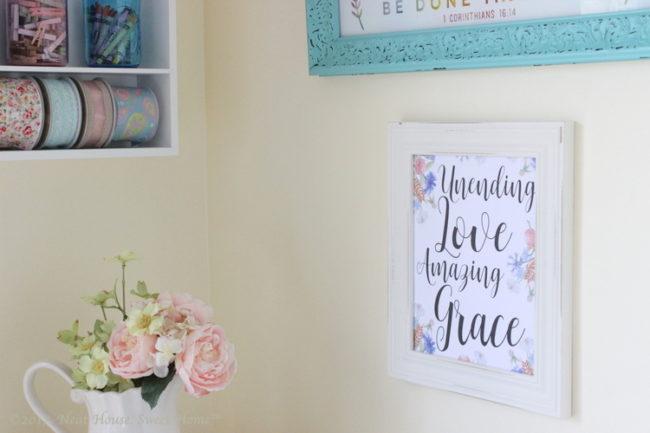 Fabulous Unending Love Amazing Grace Free Printable Wall Art My new favorite creative space