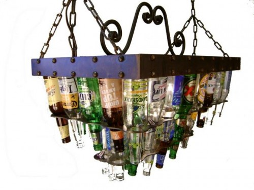 Have You Ever Wanted To Integrate Beer Into Your Decor Barlite Has Been Making Bottle Sconces And Chandeliers For Over 10 Years