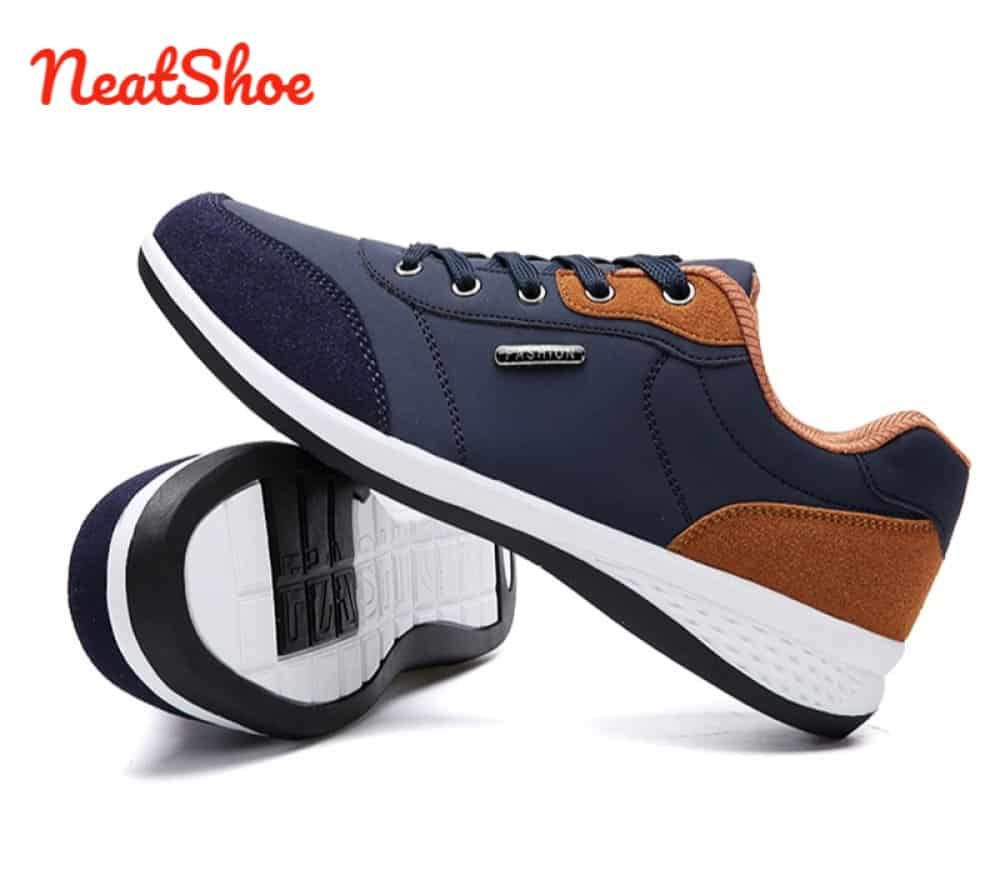 NeatShoe Microfiber Leather Casual