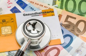 Die Krankenversicherung ist ein nicht zu unterschätzender Kostenfaktor.