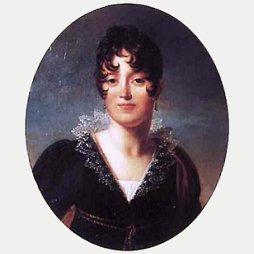 Portrait of Désirée Clary