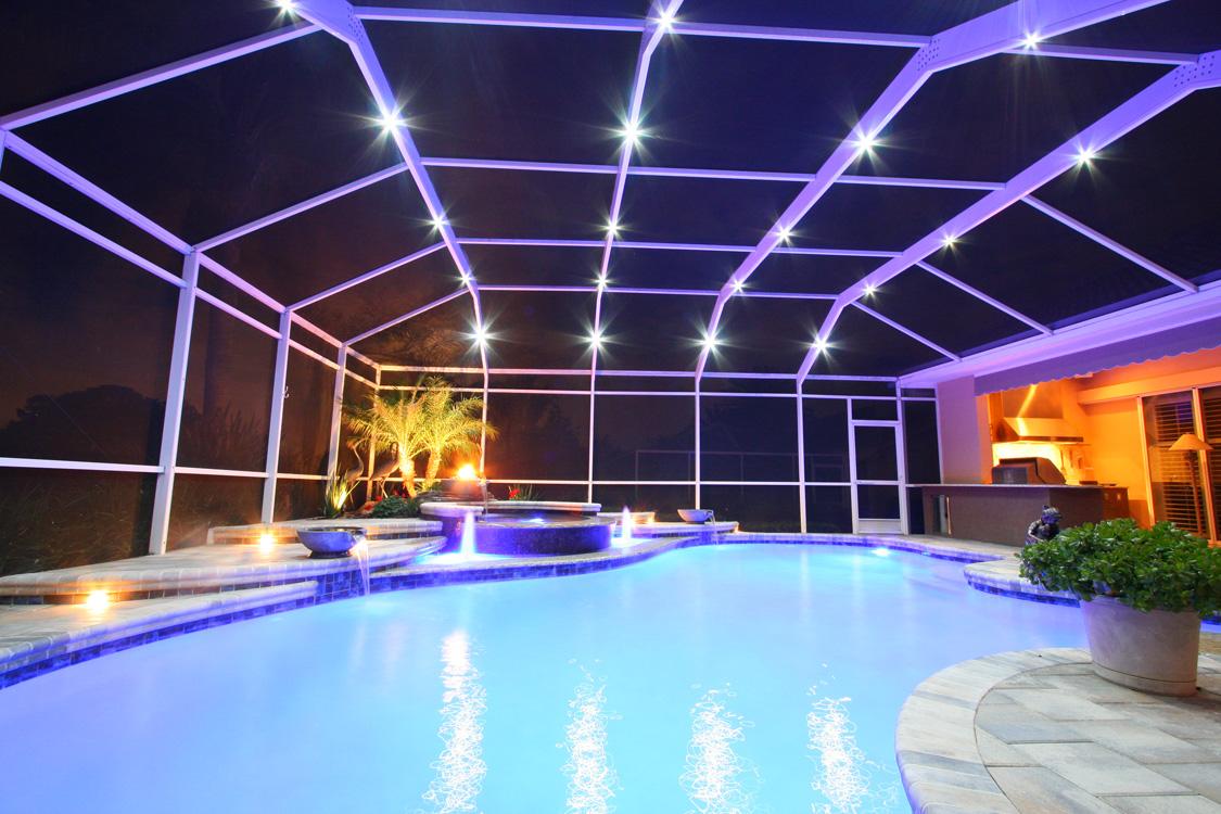 lanai lights for pool cage