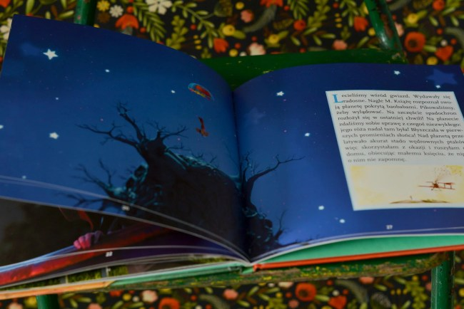 książki dla dzieci mały książę