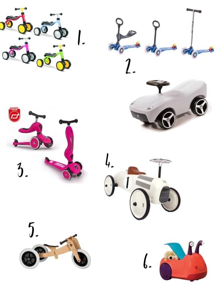prezent na roczek dla chłopca - pojazd