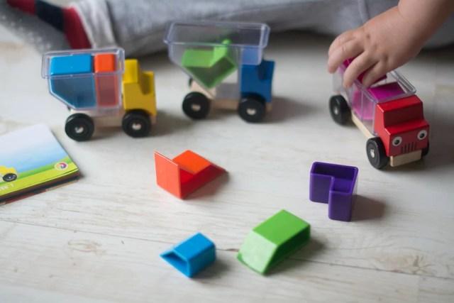 3 auta zabawki - Prezent dla 2 latka