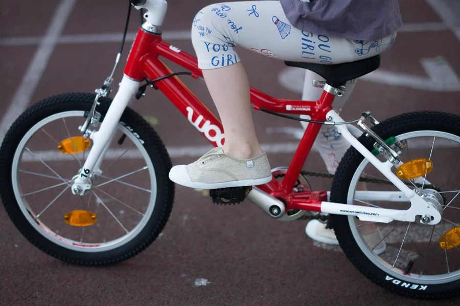 lekki rower dla dziecka - woom 3