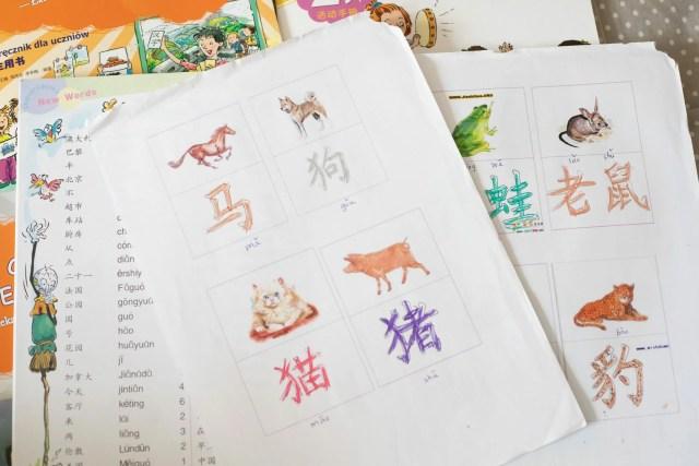 język chiński - znaki