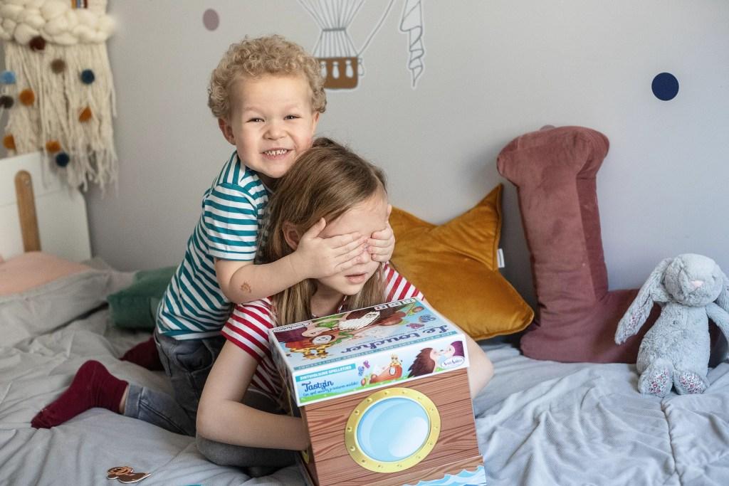 gra dla dzieci sensoryczna - dotyk