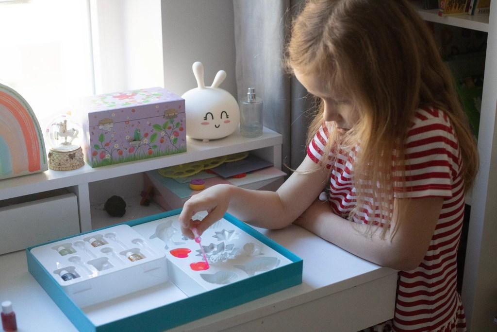 gra sensoryczna - fabryczka mydła